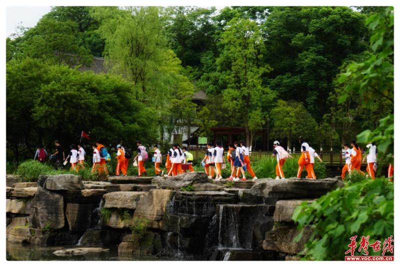 相遇•桃花源的前世今生——博才白鹤小学开展2021年上学期五年级研学之旅